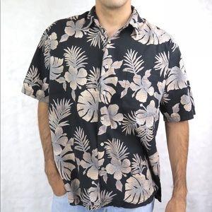 Tori Richard Mens Button Down Shirt Short Sleeve